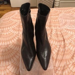 Stuart Weitzman Brown Ankle Boots